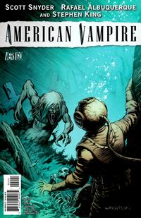 Cover Thumbnail for American Vampire (DC, 2010 series) #2 [Limited Variant (1 in 25)]