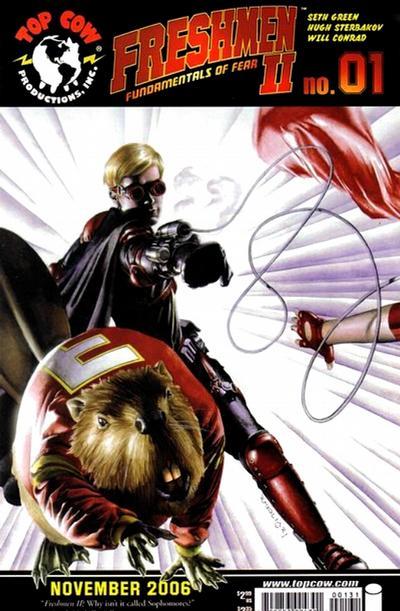 Cover for Freshmen (Image, 2006 series) #1 [Cover A Rodolfo Migliari]