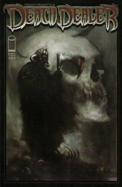 Cover for Frank Frazetta's Death Dealer (Image, 2007 series) #3 [Cover A]