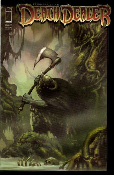 Cover for Frank Frazetta's Death Dealer (Image, 2007 series) #4