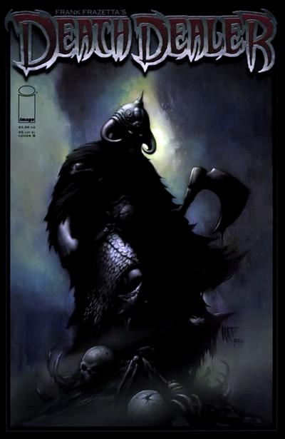 Cover for Frank Frazetta's Death Dealer (Image, 2007 series) #5