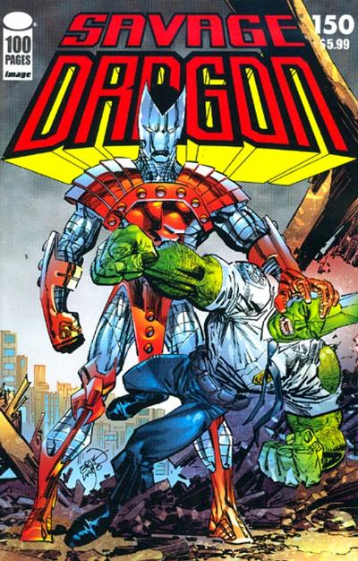 Cover for Savage Dragon (Image, 1993 series) #150