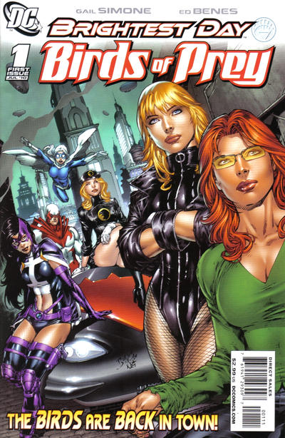 Cover for Birds of Prey (DC, 2010 series) #1