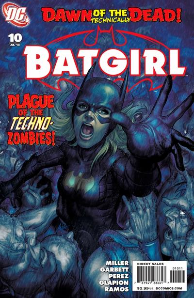 Cover for Batgirl (DC, 2009 series) #10