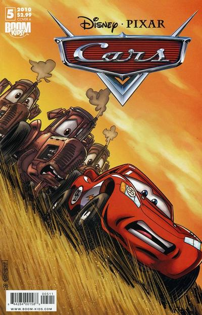 Cover for Cars (Boom! Studios, 2009 series) #5 [Cover A]
