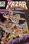 Cover for Ka-Zar the Savage (Marvel, 1981 series) #20