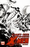 Cover Thumbnail for Giant-Size Astonishing X-Men (2008 series) #1 [Black and White Variant]