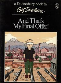 Cover Thumbnail for And That's My Final Offer! (A Doonesbury Book) (Holt, Rinehart and Winston, 1980 series)