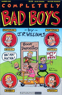 Cover Thumbnail for Completely Bad Boys (Fantagraphics, 1992 series) #1