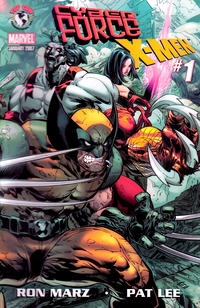 Cover Thumbnail for Cyberforce / X-Men (Image, 2007 series) #1 [Pat Lee Cover]