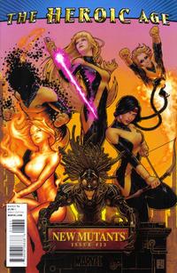 Cover Thumbnail for New Mutants (Marvel, 2009 series) #13 [Heroic Age Variant]