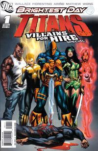 Cover Thumbnail for Titans: Villains for Hire Special (DC, 2010 series) #1 [Fabrizio Fiorentino Titans Cover]
