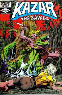 Cover Thumbnail for Ka-Zar the Savage (Marvel, 1981 series) #18