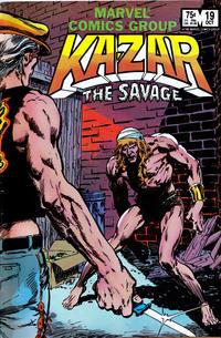 Cover Thumbnail for Ka-Zar the Savage (Marvel, 1981 series) #19