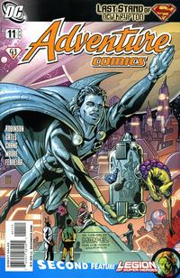 Cover Thumbnail for Adventure Comics (DC, 2009 series) #11 / 514 [Cover A]
