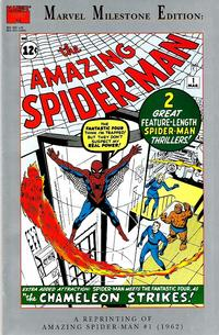 Cover Thumbnail for Marvel Milestone Edition: The Amazing Spider-Man #1 (Marvel, 1993 series)