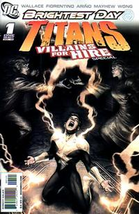 Cover Thumbnail for Titans: Villains for Hire Special (DC, 2010 series) #1 [Fabrizio Fiorentino Osiris Cover]