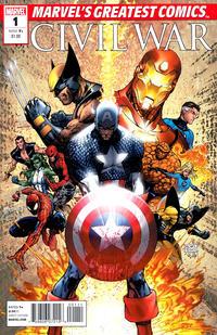 Cover Thumbnail for Civil War MGC (Marvel, 2010 series) #1