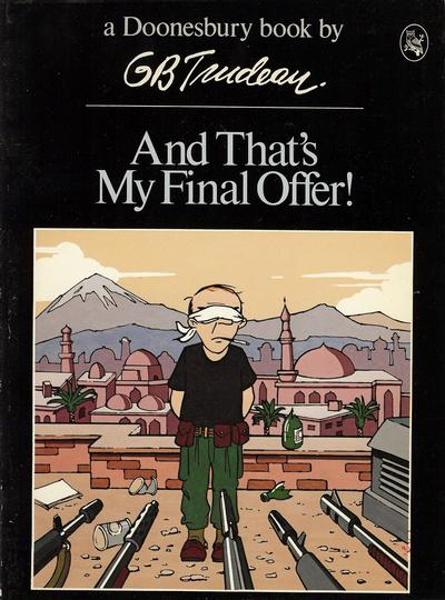 Cover for And That's My Final Offer! (A Doonesbury Book) (Holt, Rinehart and Winston, 1980 series) #[nn]