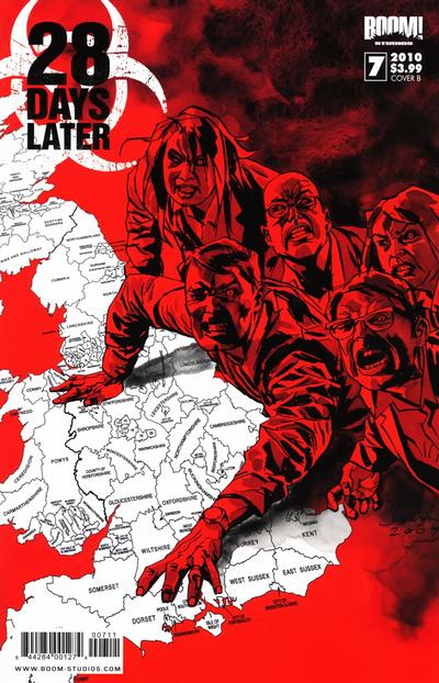 Cover for 28 Days Later (Boom! Studios, 2009 series) #7