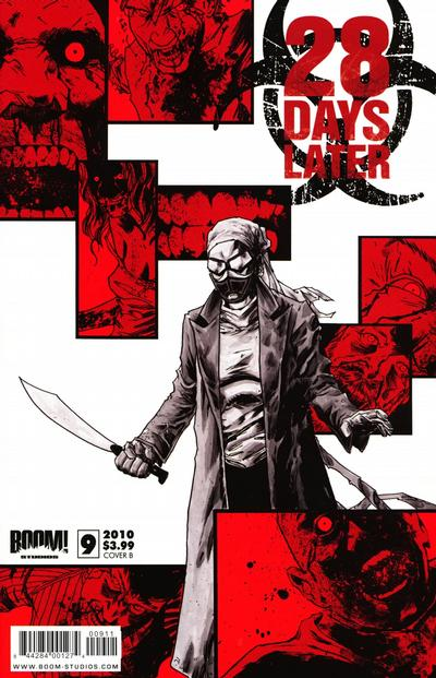 Cover for 28 Days Later (Boom! Studios, 2009 series) #9 [Cover A]