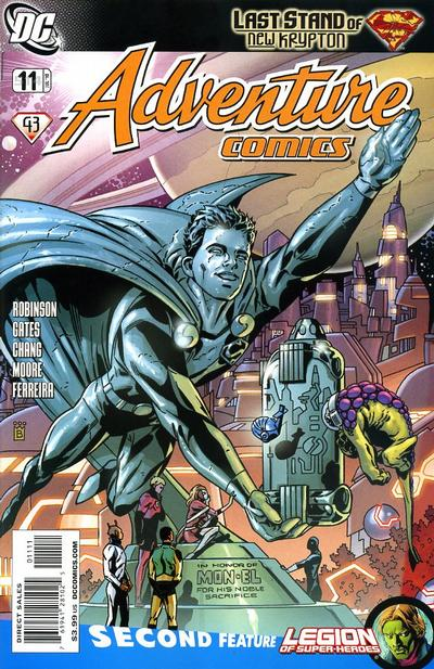 Cover for Adventure Comics (DC, 2009 series) #11 / 514 [Cover B]