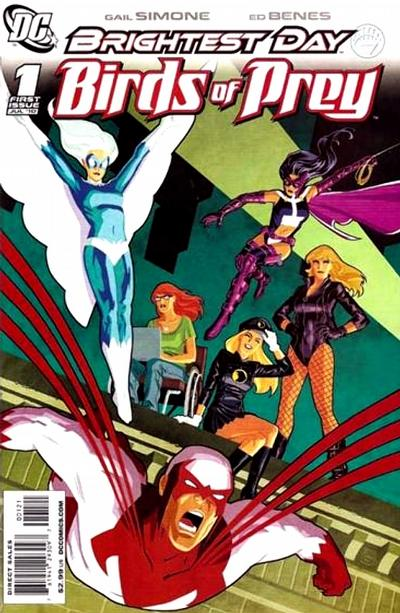 Cover for Birds of Prey (DC, 2010 series) #1 [Cliff Chiang cover]
