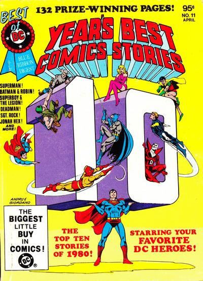 Cover for The Best of DC (DC, 1979 series) #11 [Newsstand]