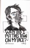 Cover for Why Did I Put This Town On My Face? (Matt Wiegle, 2008 series) #[nn]