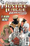 Cover for Justice League: Generation Lost (DC, 2010 series) #1 [Kevin Maguire Limited Variant]