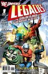 Cover for DCU: Legacies (DC, 2010 series) #1 [Regular cover]