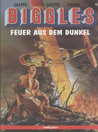 Cover Thumbnail for Biggles (comicplus+, 1992 series) #10 - Feuer aus dem Dunkel
