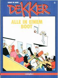 Cover Thumbnail for Dekker (comicplus+, 1986 series) #5 - Alle in einem Boot