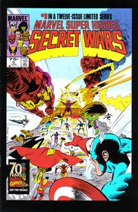 Cover Thumbnail for Hasbro / Secret Wars (Marvel, 2009 series) #9
