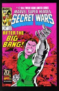 Cover Thumbnail for Hasbro / Secret Wars (Marvel, 2009 series) #12