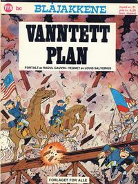 Cover for Trumf-serien (Forlaget For Alle A/S, 1973 series) #21 - Blåjakkene: Vanntett plan