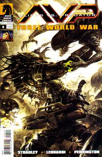 Cover Thumbnail for Aliens vs. Predator: Three World War (Dark Horse, 2010 series) #4