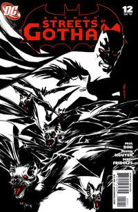 Cover Thumbnail for Batman: Streets of Gotham (DC, 2009 series) #12