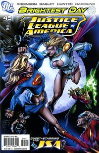 Cover Thumbnail for Justice League of America (DC, 2006 series) #45 [Standard Cover]