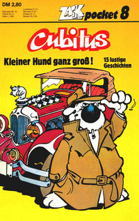 Cover Thumbnail for Zack Pocket (Koralle, 1980 series) #8 - Cubitus - Kleiner Hund ganz groß