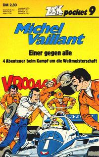 Cover for Zack Pocket (Koralle, 1980 series) #9