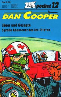 Cover Thumbnail for Zack Pocket (Koralle, 1980 series) #12 - Dan Cooper - Jäger und Gejagte