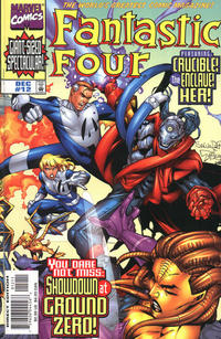 Cover Thumbnail for Fantastic Four (Marvel, 1998 series) #12 [Direct Edition]