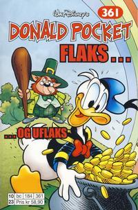 Cover Thumbnail for Donald Pocket (Hjemmet / Egmont, 1968 series) #361 - Flaks ... og uflaks [1. opplag]