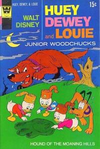 Cover Thumbnail for Walt Disney Huey, Dewey and Louie Junior Woodchucks (Western, 1966 series) #12 [Whitman Variant]