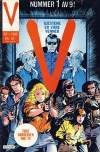 Cover Thumbnail for V-serien (Semic, 1986 series) #1/1986