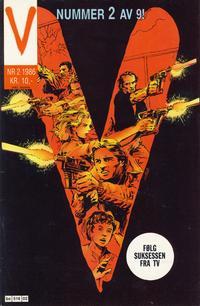 Cover Thumbnail for V-serien (Semic, 1986 series) #2/1986