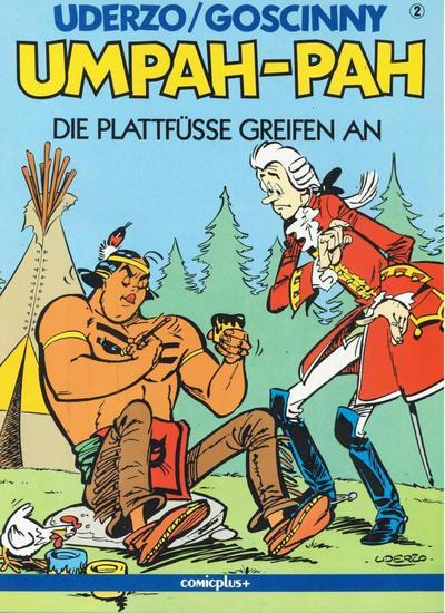 Cover for Umpah-Pah (comicplus+, 1987 series) #2 - Die Plattfüsse greifen an
