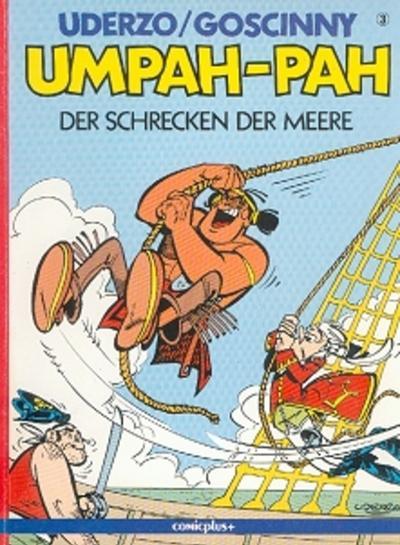 Cover for Umpah-Pah (comicplus+, 1987 series) #3 - Der Schrecken der Meere