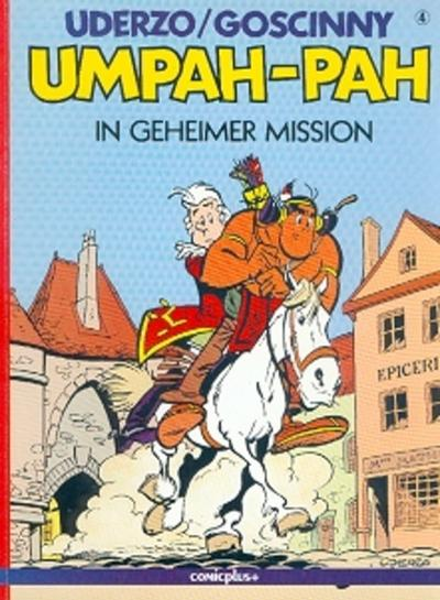 Cover for Umpah-Pah (comicplus+, 1987 series) #4 - In geheimer Mission